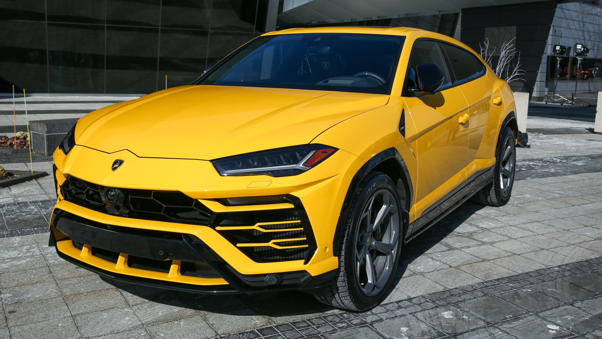 Lamborghini reports record profits, CEO teases electric future
