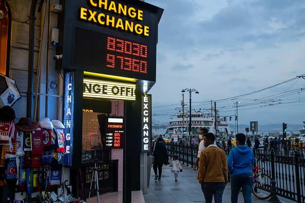 Turkey's lira plunges after Erdogan sacks central bank chief