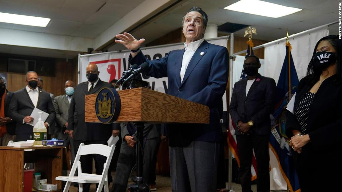 Cuomo leans on Black Democrats and old friends as he fights for his political future