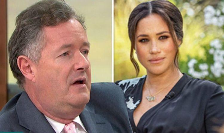 Piers Morgan demands apology from US CNN reporter on Meghan Markle claim | Celebrity News | Showbiz & TV