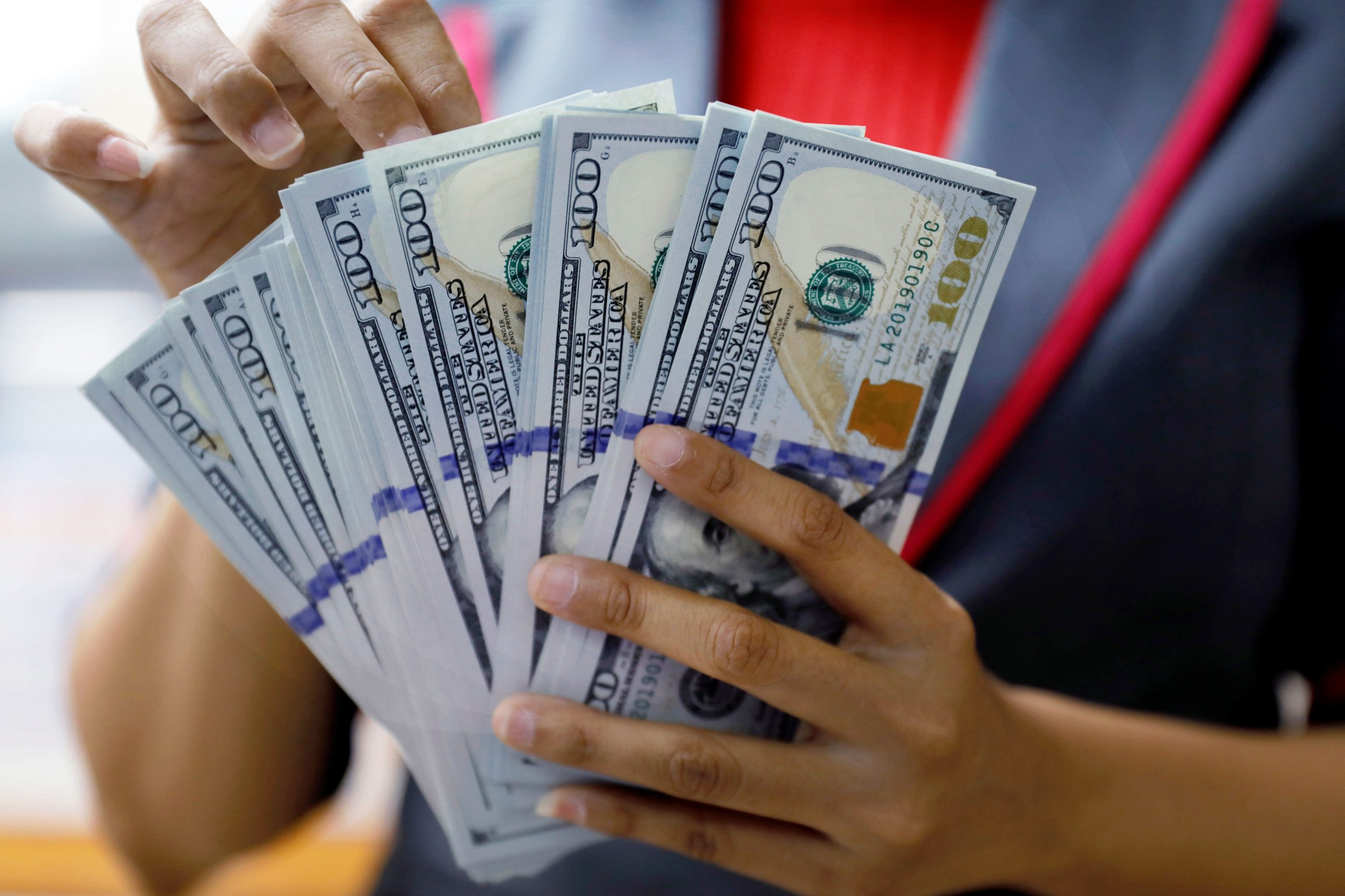 Dollar moves, U.S. yields, Fed