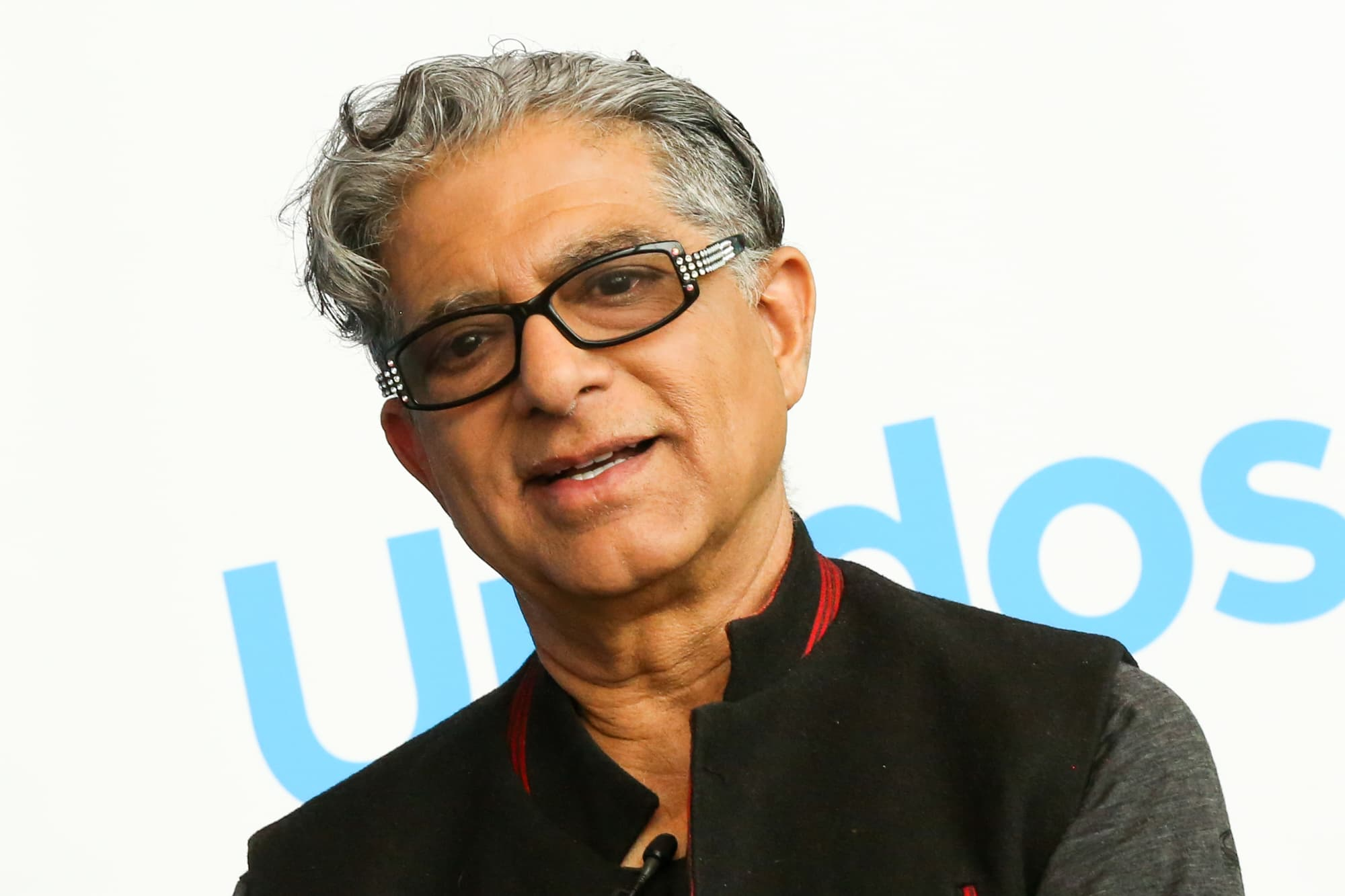 Deepak Chopra warns of disaster unless people address their well-being