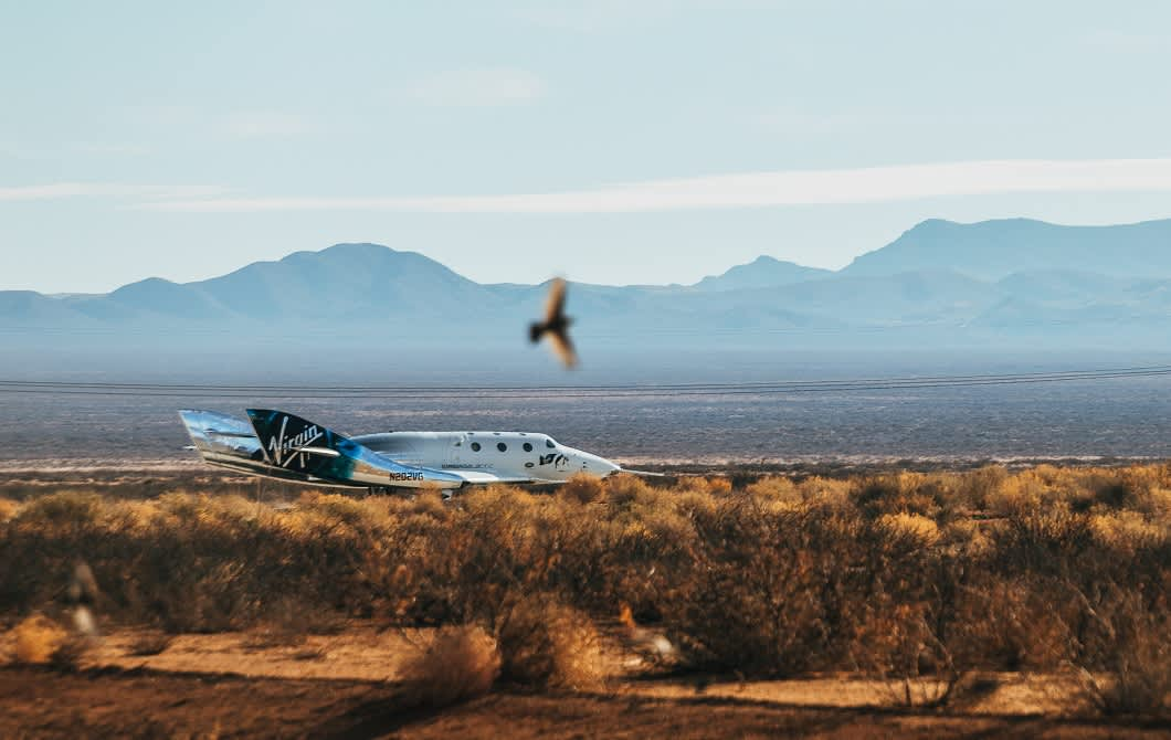 Virgin Galactic stock erases 2021 gains after Branson's stake sale