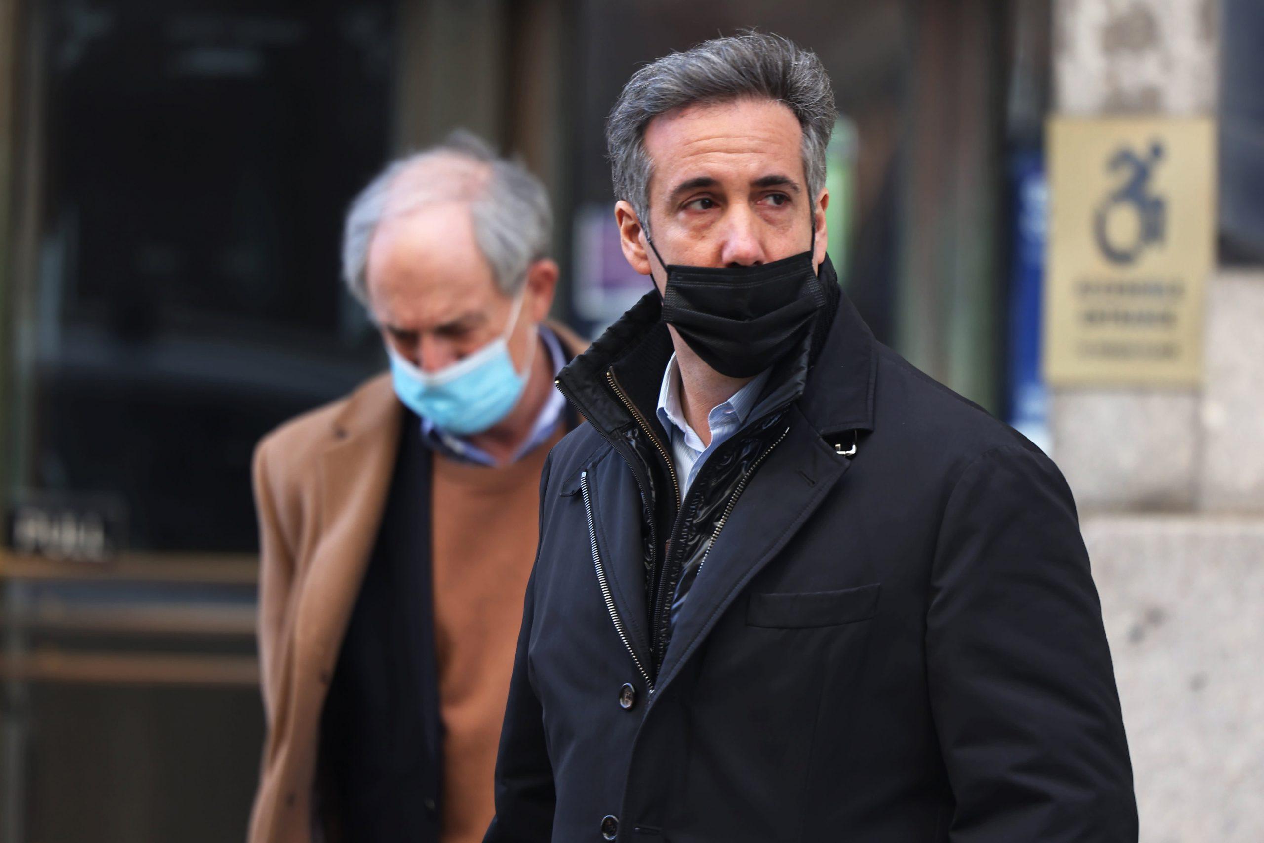 Former Trump lawyer Michael Cohen asks judge to suspend home confinement