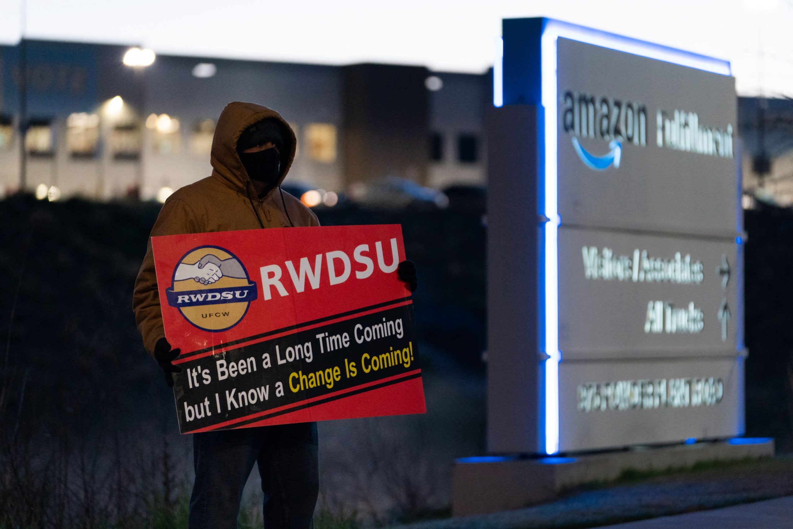 Amazon union vote count in Alabama: Live updates of results