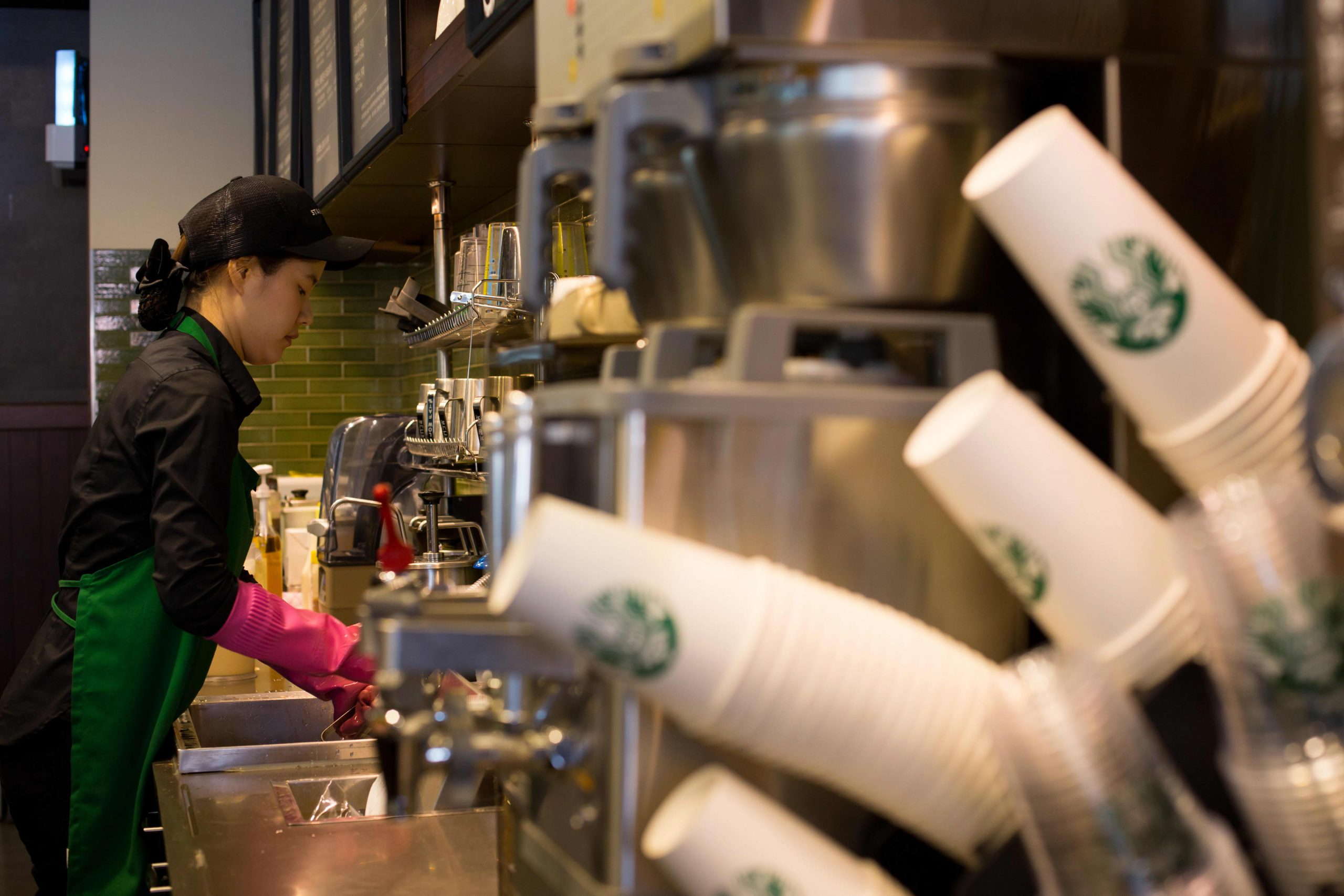 Starbucks will discontinue disposable cups in South Korea by 2025