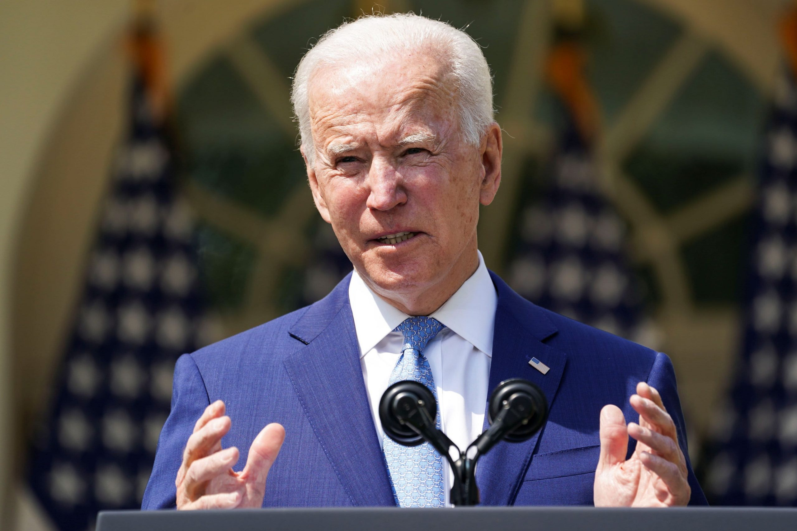 Biden says gun violence is an epidemic, calls for red-flag law