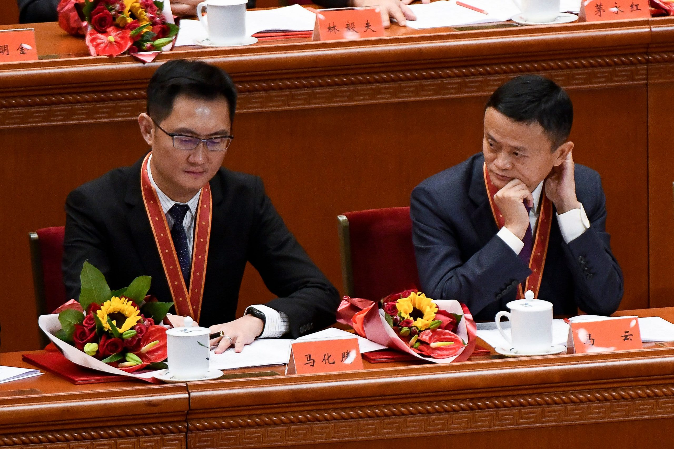 Tencent and Alibaba could collide