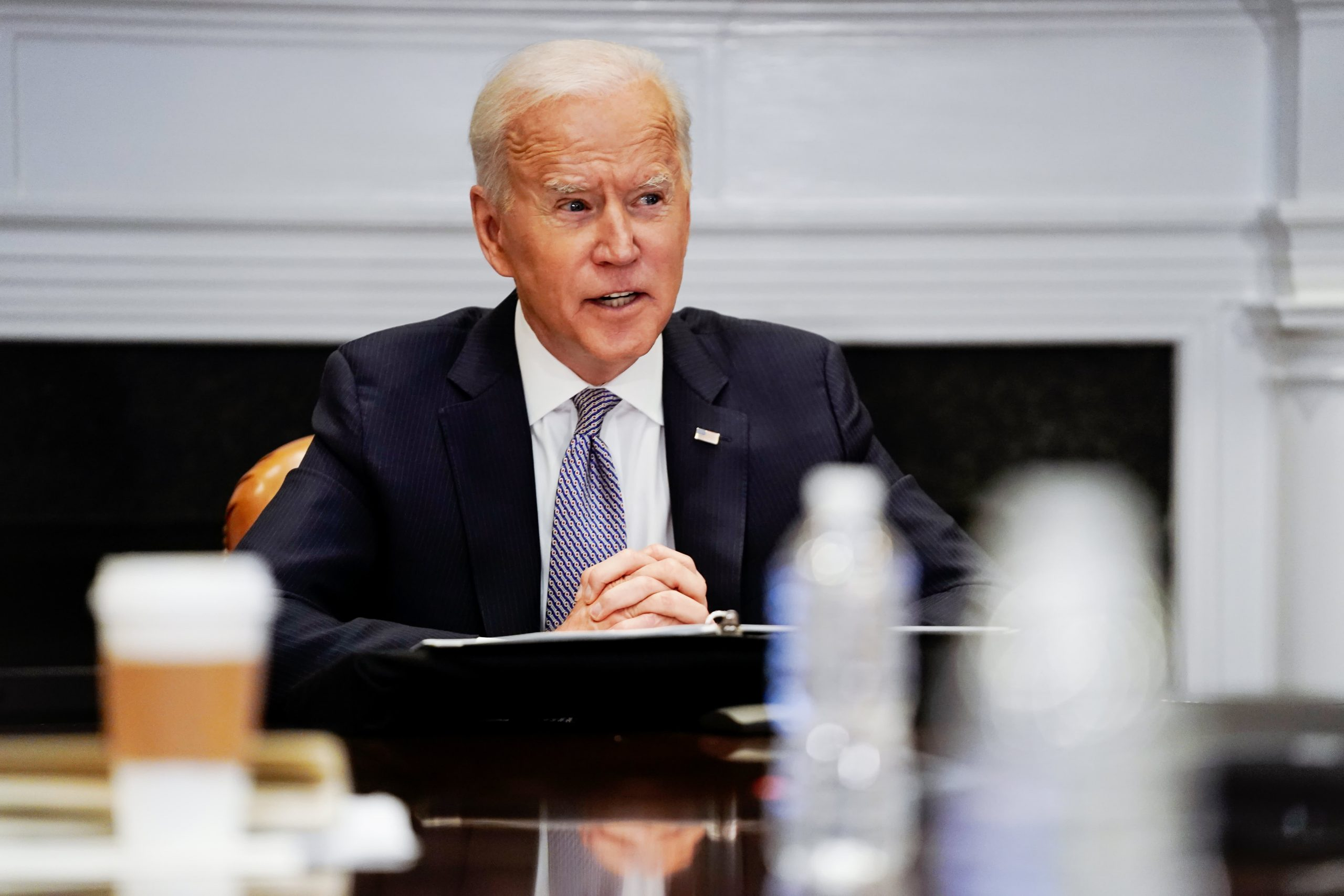 Executives call on Biden to cut emissions to combat climate change