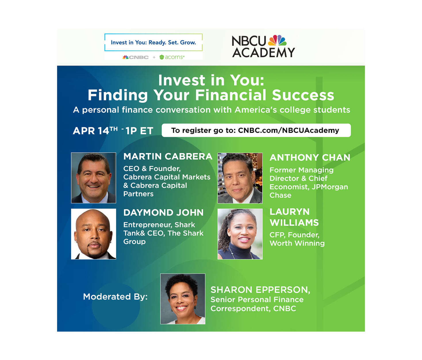 Invest in You: Finding Your Financial Success