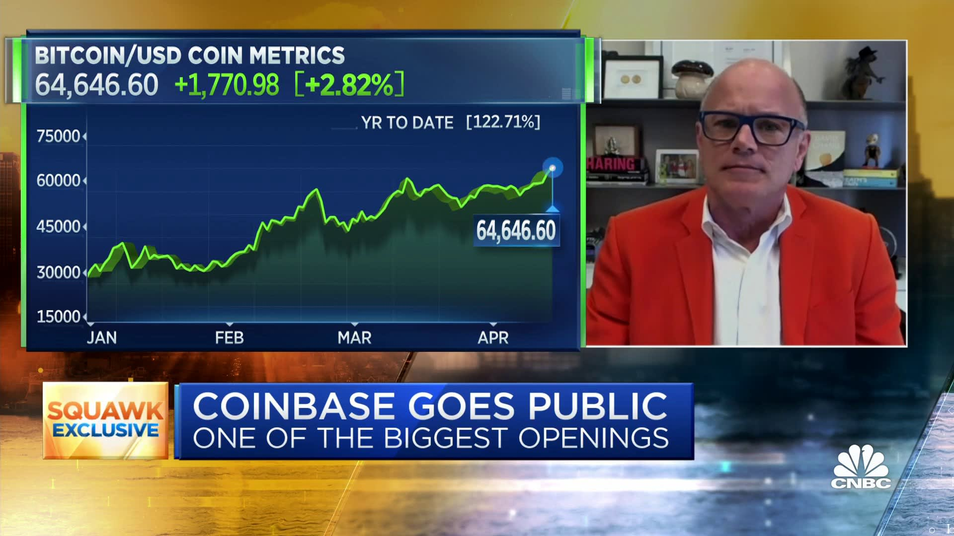 Coinbase is the 'Netscape moment' of the crypto economy