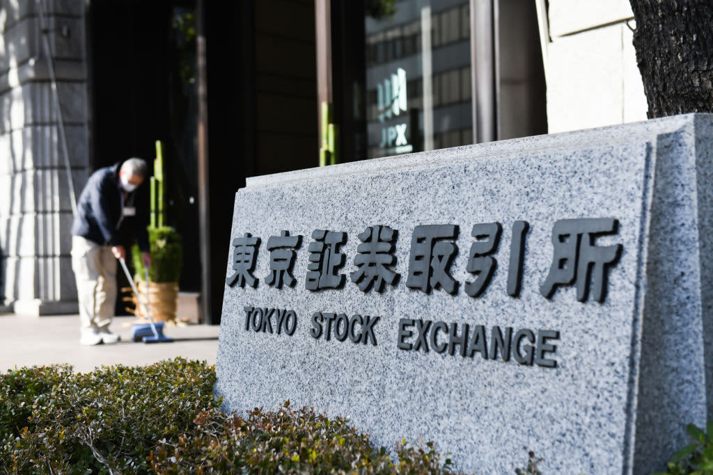 China stocks lead losses among major Asia-Pacific markets