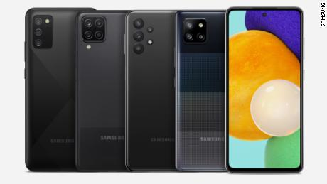 The Samsung A Series starts at $109 in the US