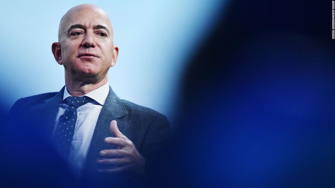 Jeff Bezos is stepping down as Amazon CEO