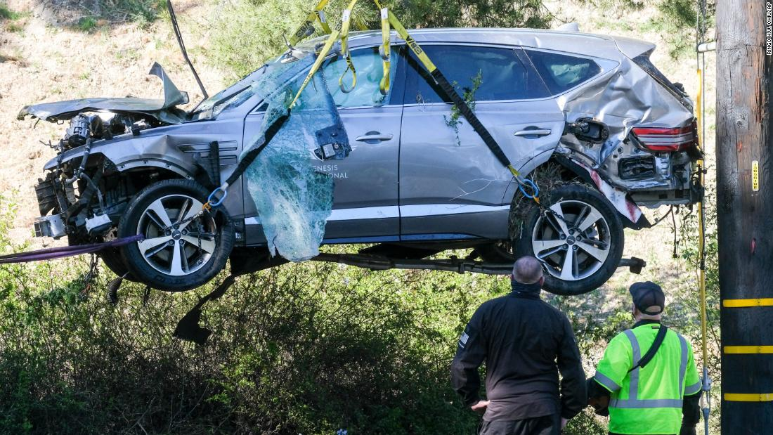 Tiger Woods update: SUV crash was caused by speed and an inability to negotiate a curve, Los Angeles County sheriff says