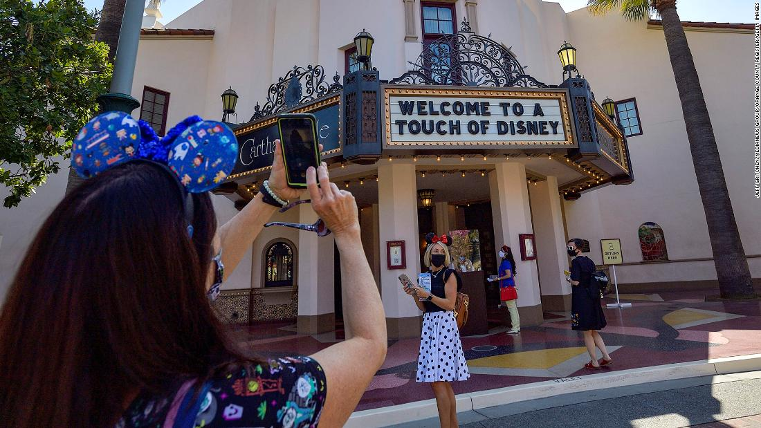 Disney Parks of the future will look like this