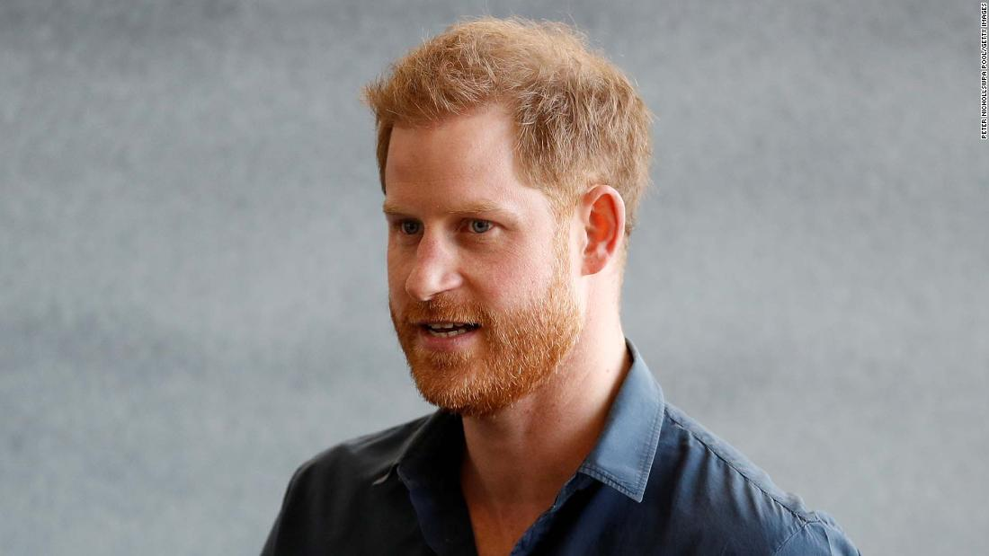 Prince Harry reported to have landed in the UK ahead of Philip's funeral