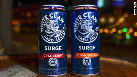 White Claw Surge has 8% ABV.