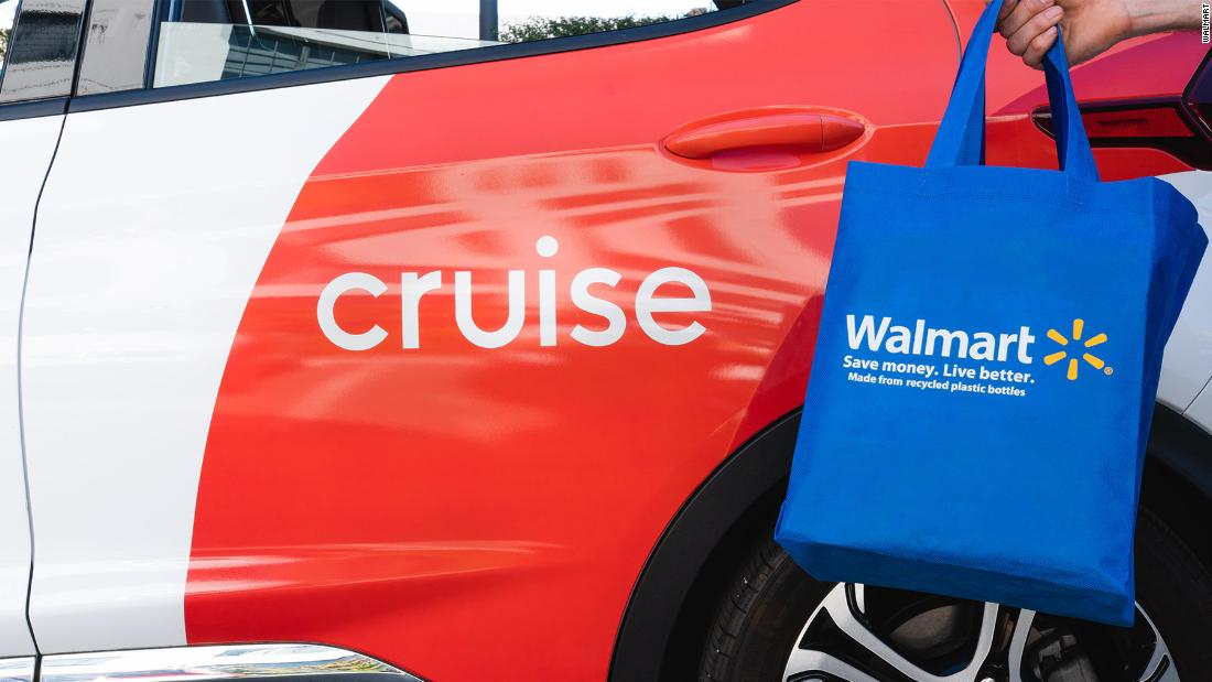 Walmart invests in GM's self-driving car company, Cruise
