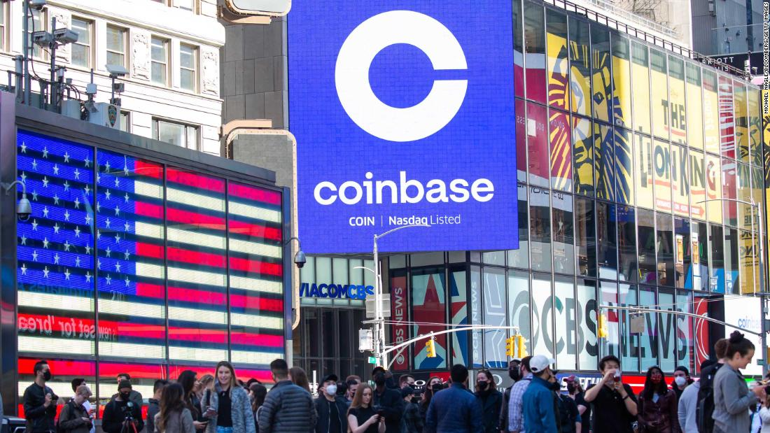 Premarket stocks: Coinbase's stunning Wall Street debut is huge validation for crypto fans