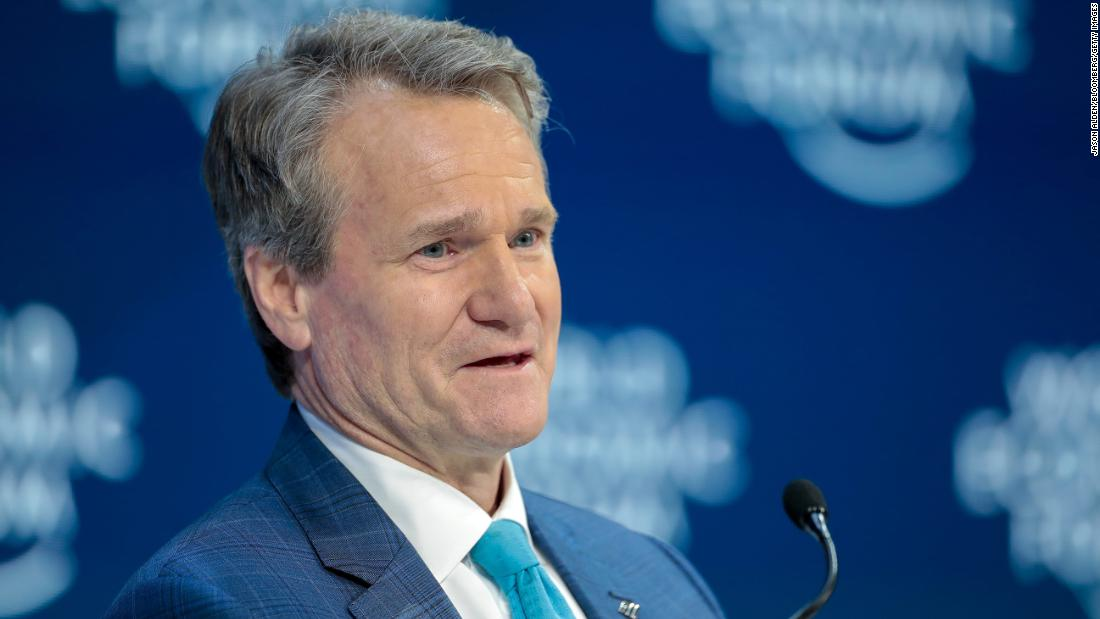 Bank of America CEO calls for bipartisan push to study restrictive voting laws
