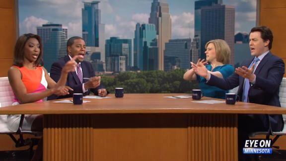 'SNL' sees Minnesota news anchors take on the Derek Chauvin trial | CNN