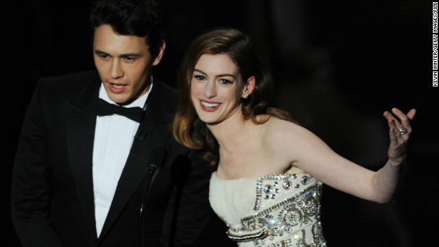 Anne Hathaway and James Franco hosting the 2011 Oscars was doomed from the start