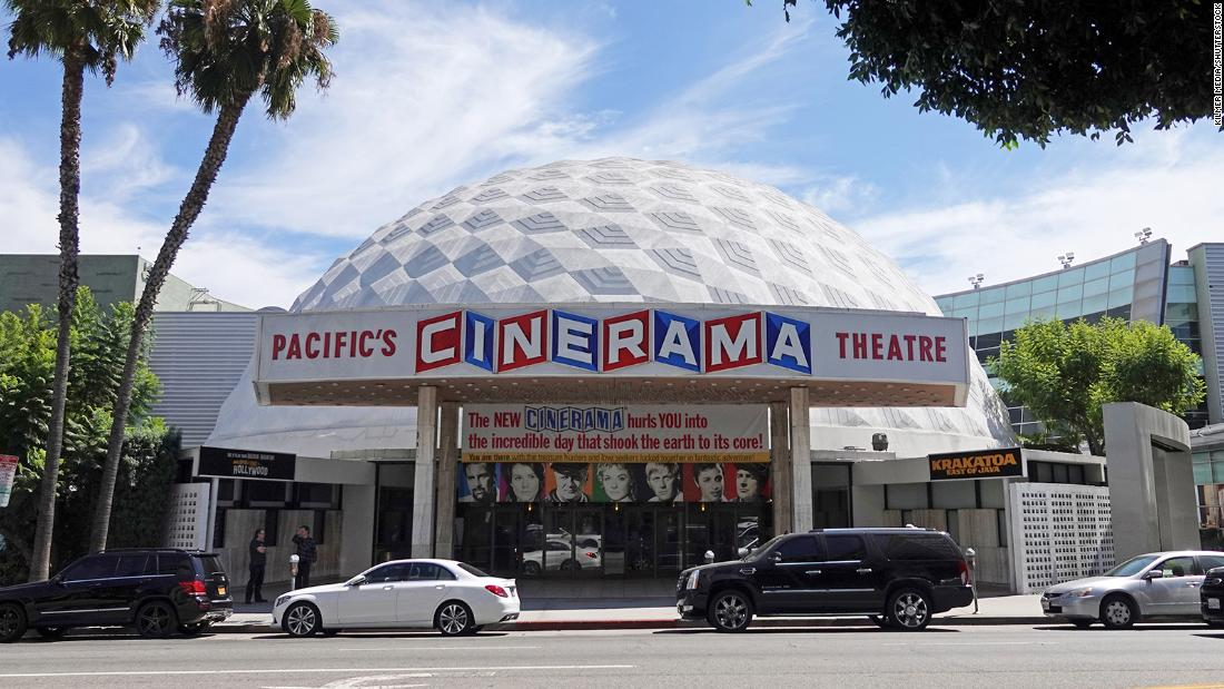 Cinerama Dome among 300 movie screens to go dark in California after Pacific Theatres and ArcLight shut operations due to Covid-19