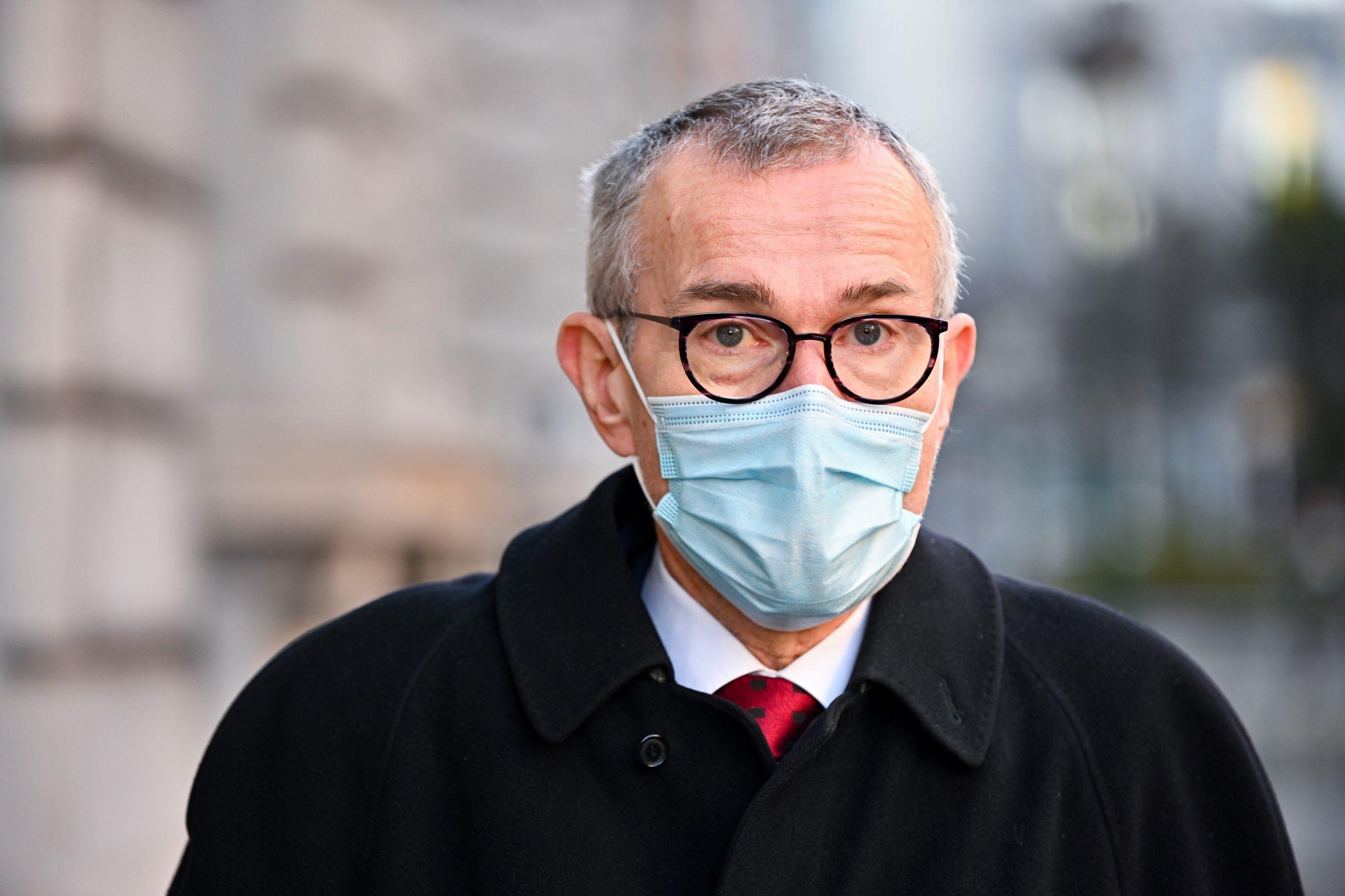 Belgian Minister of Health Frank Vandenbroucke in Brussels, Belgium, on February 26.