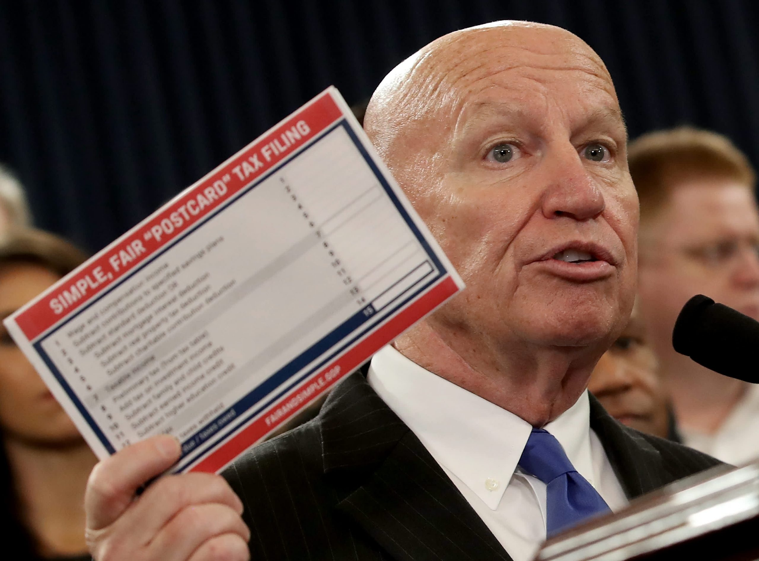 Big fight brewing, Kevin Brady says