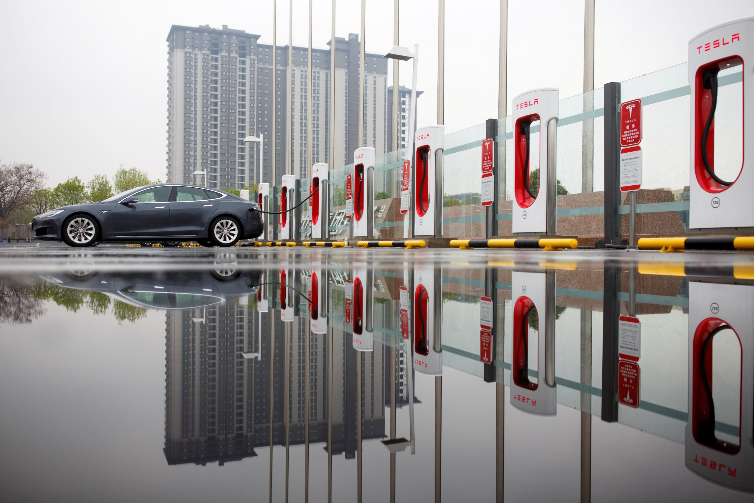 Tesla's Model Y slumps in China sales rankings, data shows