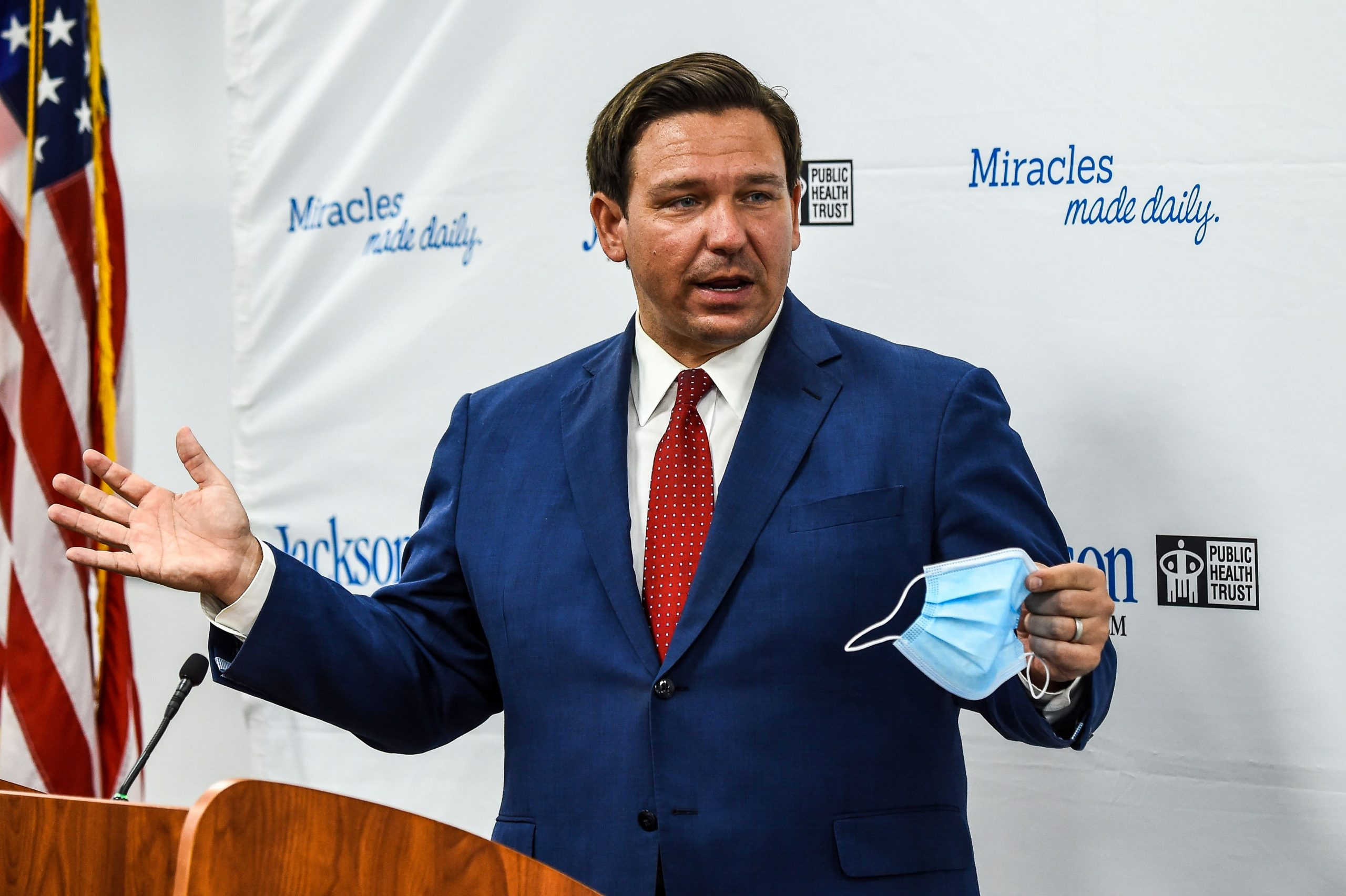 Florida governor DeSantis suspends all remaining Covid restrictions