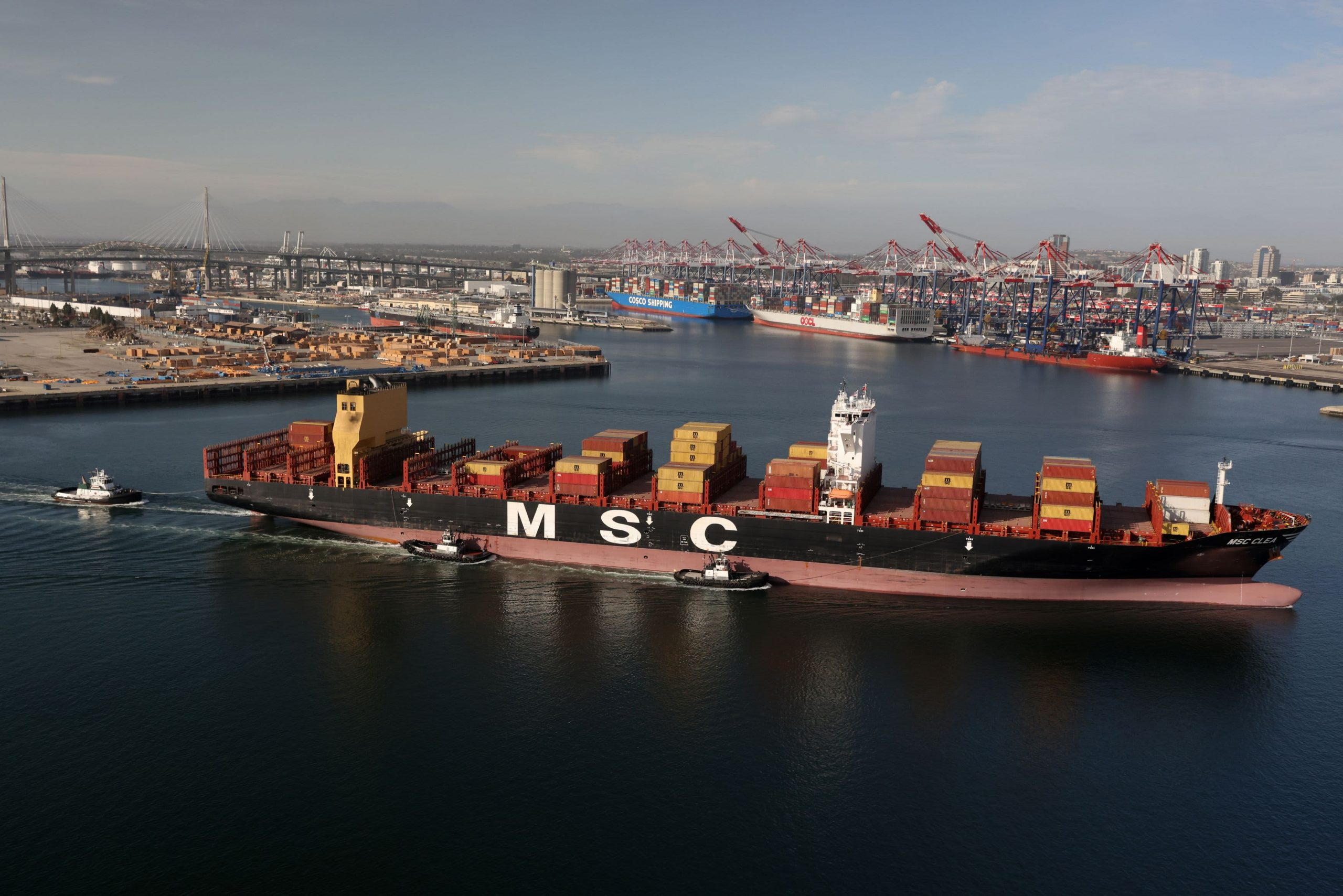 U.S. trade deficit surges to new record; shortfall with China rises