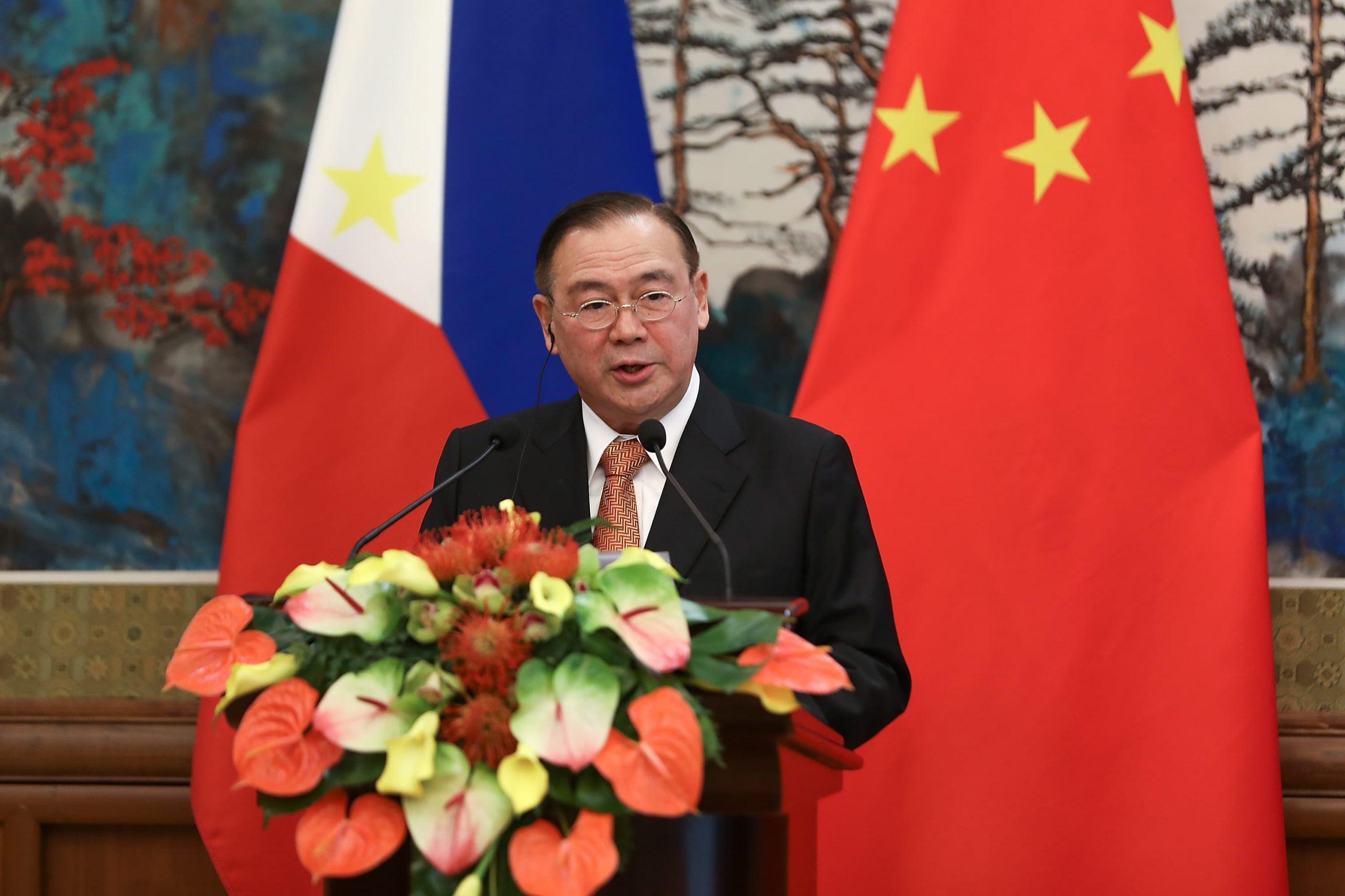 Philippine foreign secretary Locsin slams Beijing over South China Sea