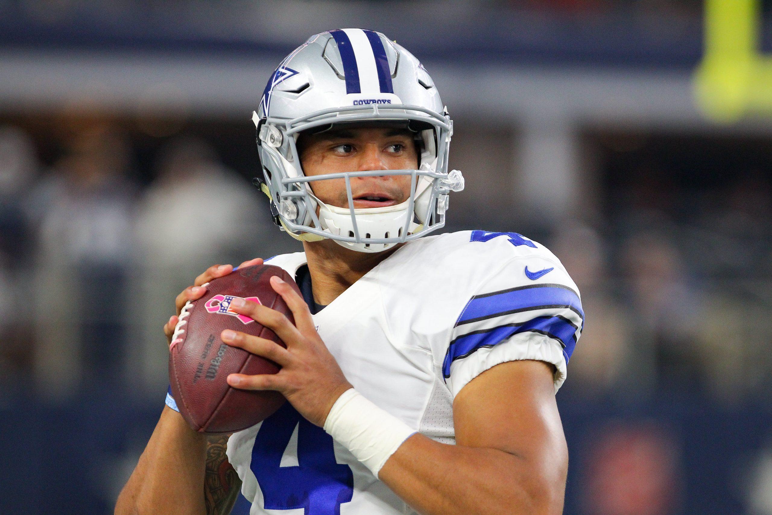 Dallas Cowboys' Dak Prescott takes 20% stake in Walk-On's franchises