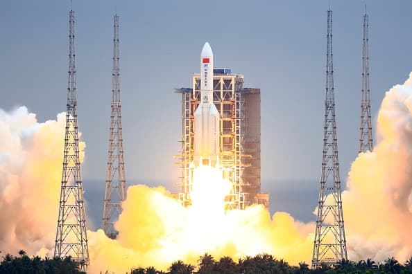 China says remnants of Long March 5B rocket landed in Indian Ocean