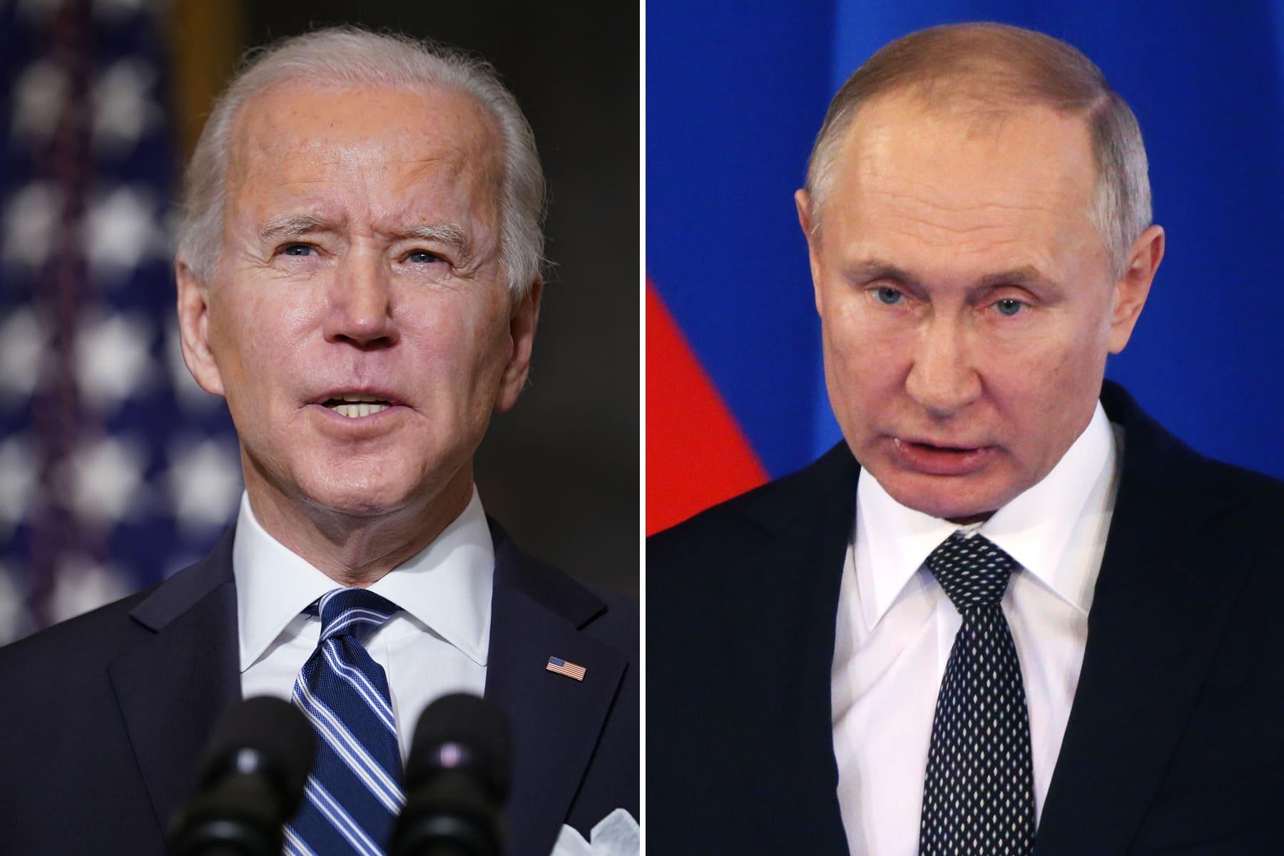Russia tells U.S. to expect 'uncomfortable' signals ahead of Putin-Biden summit