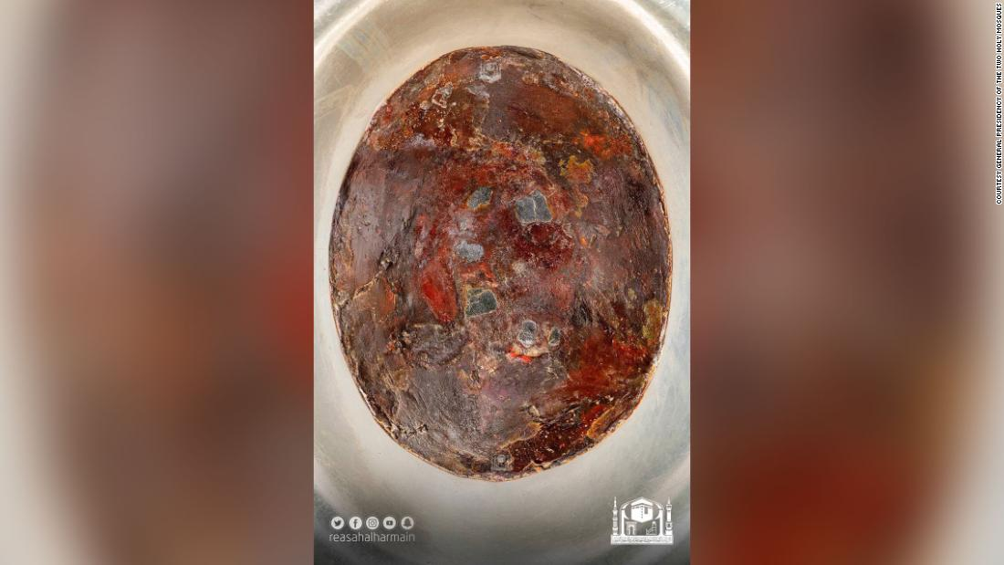 New images of Kaaba's Black Stone of Mecca released