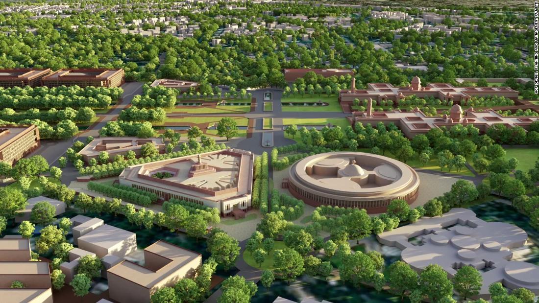 Even before Covid struck, Modi's $1.8B architectural revamp divided opinions