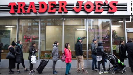 Trader Joe's is encouraging customers to follow the CDC's latest guidance.