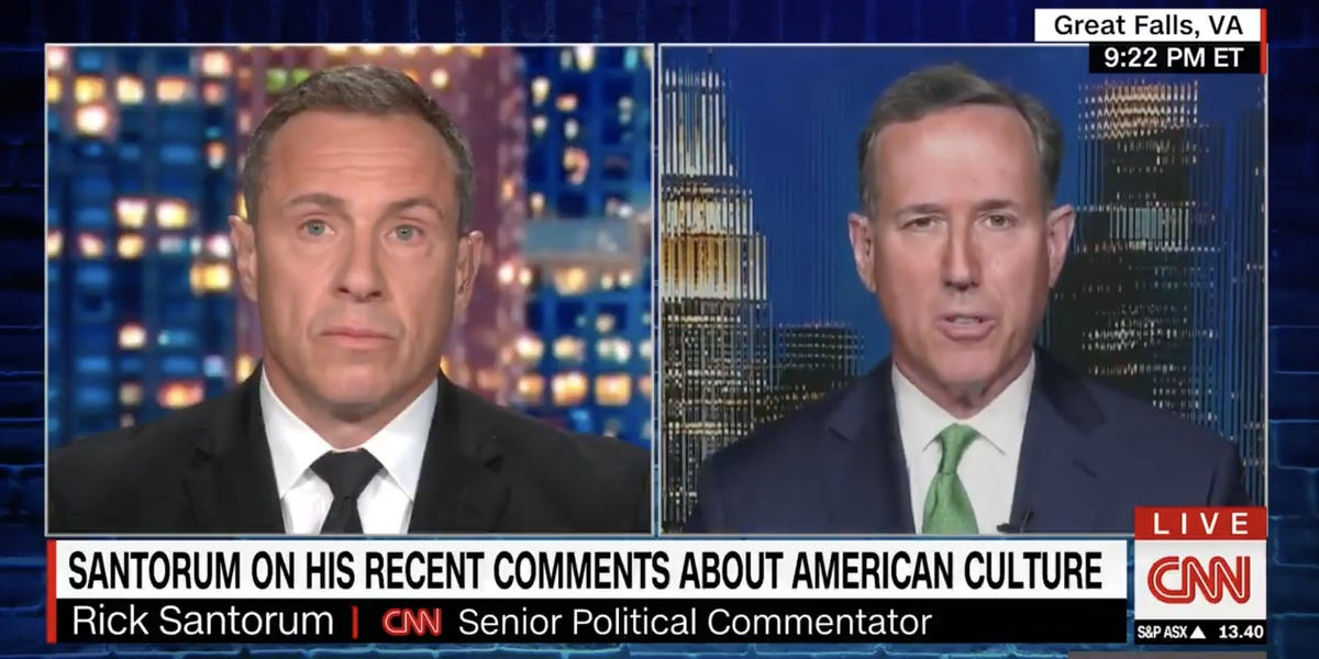 Rick Santorum Claims He 'Misspoke' About Native American Culture in the US