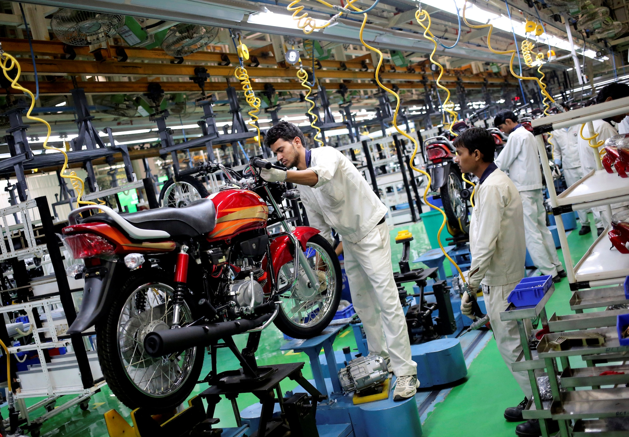 Hero MotoCorp    The company has decided to extend the shutdown at its manufacturing facilities across India, its Global Parts Center (GPC) in Neemrana and its R&D facility – the Centre of Innovation and Technology (CIT) in Jaipur – by another week, till May 16, 2021.