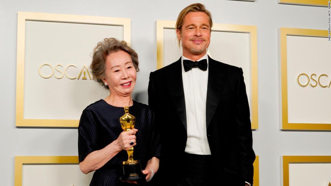 Brad Pitt fan and Oscar-winner Yuh-jung Youn has been a bright light of award season
