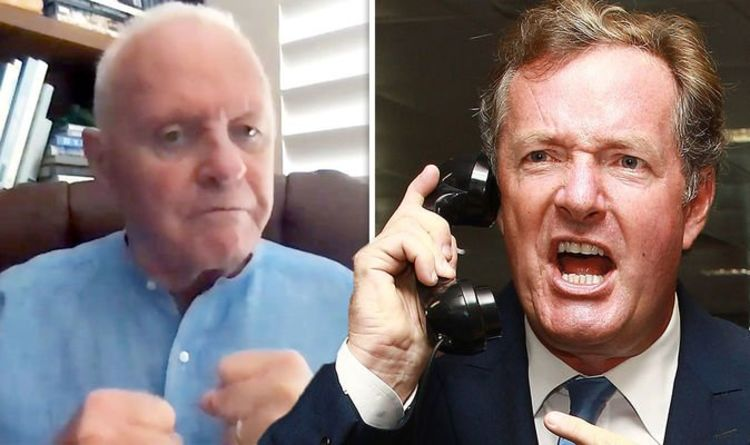 'Can I have your new number?' Piers Morgan reaches out to Anthony Hopkins amid 'woke' rant | Celebrity News | Showbiz & TV