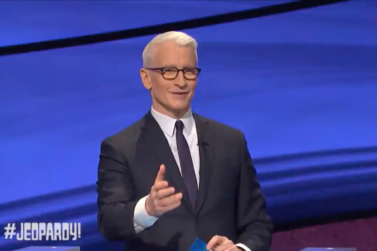 Jeopardy! guest host Anderson Cooper brings in LOWEST ratings since Alex Trebek's death & was beat out by Dr. Oz