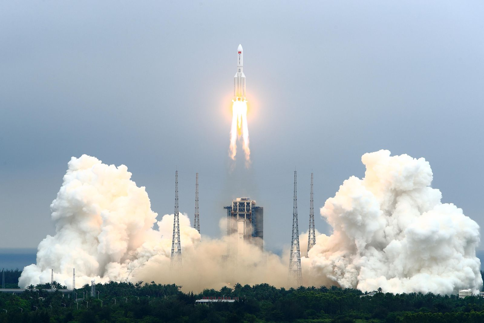 China Launches First Module of New Space Station Into Orbit | Smart News