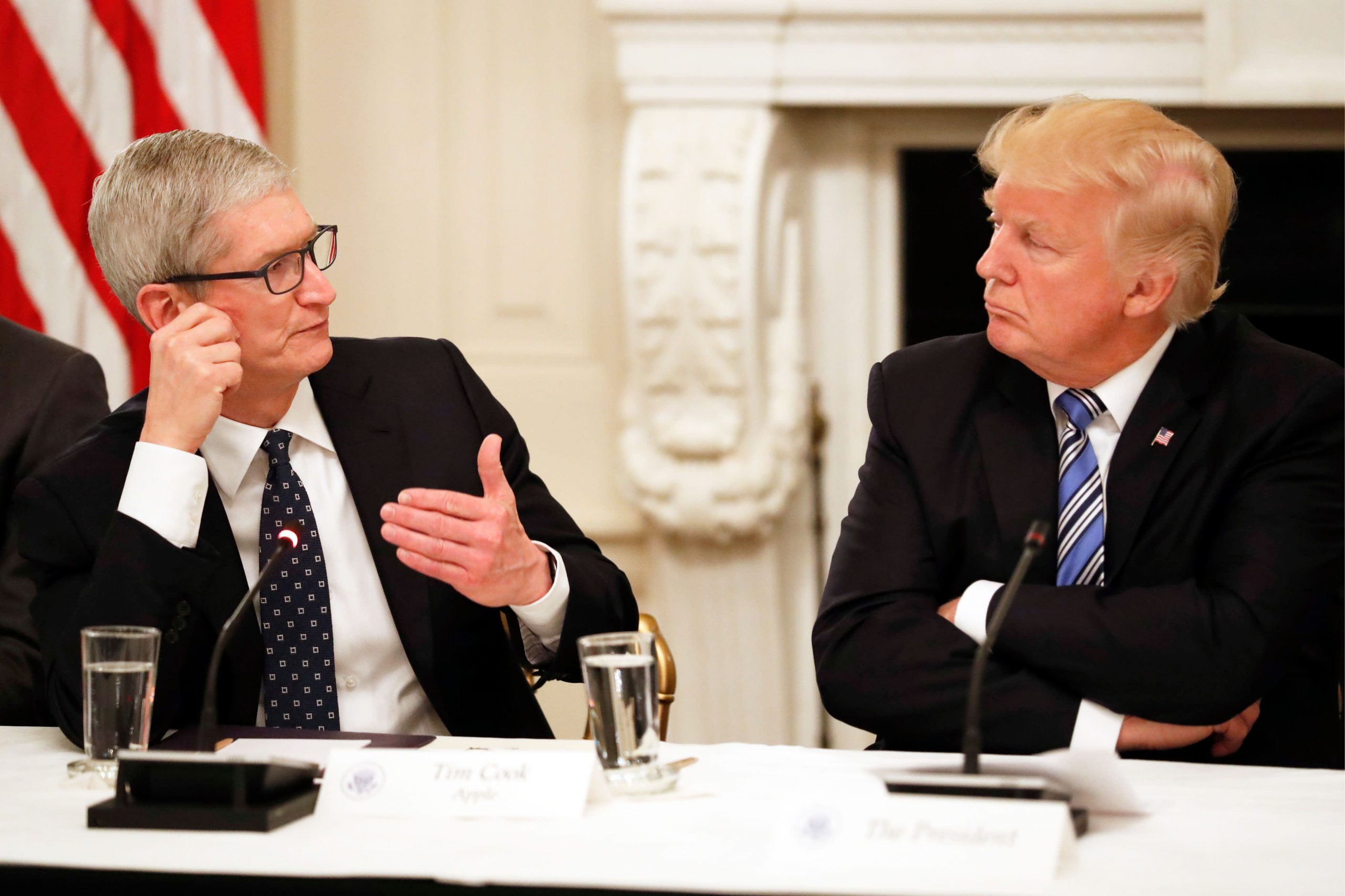 Apple says it didn't know Trump's DOJ was asking for Democrats' data