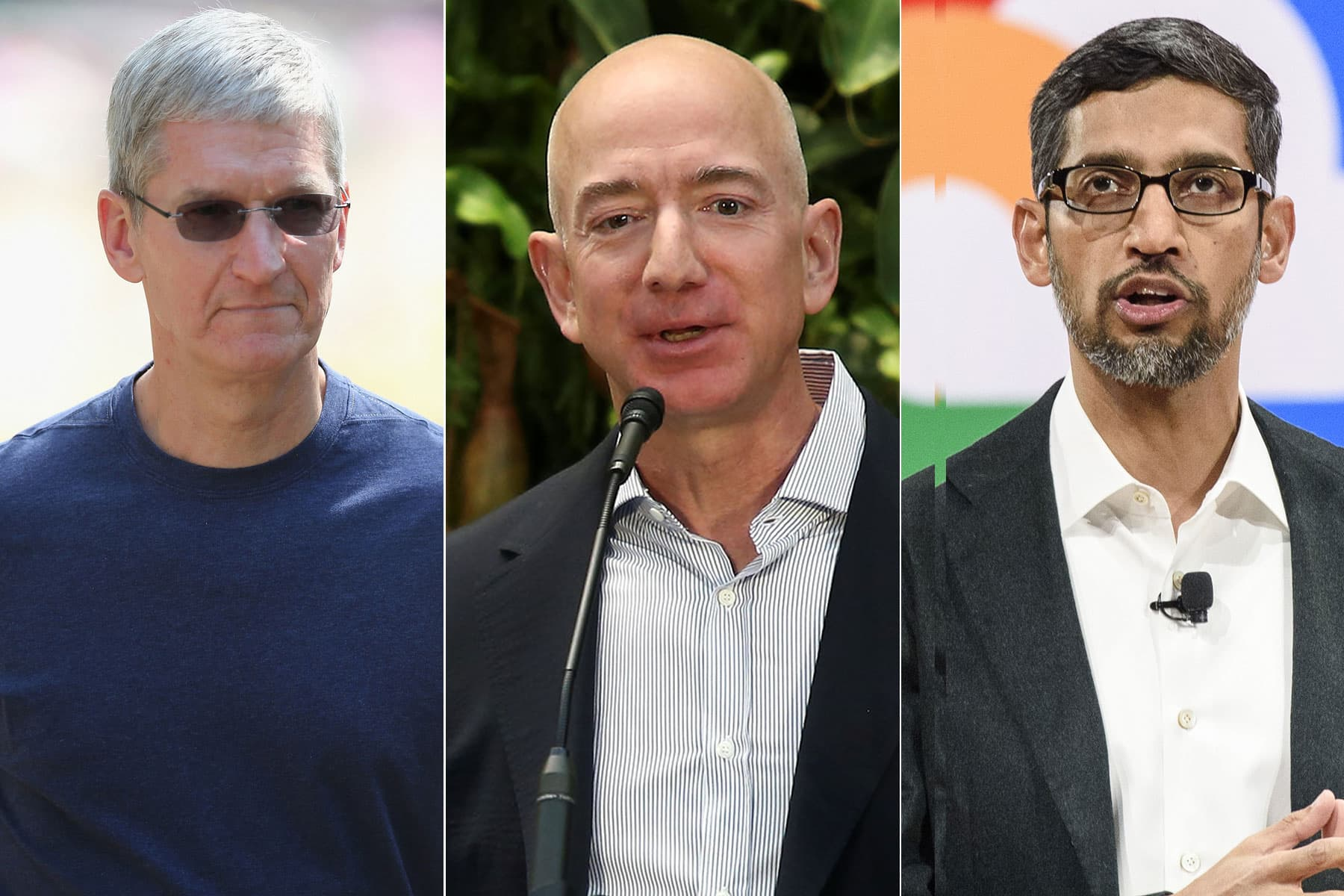 Amazon, Apple, Facebook and Google targeted in bipartisan antitrust reform bills