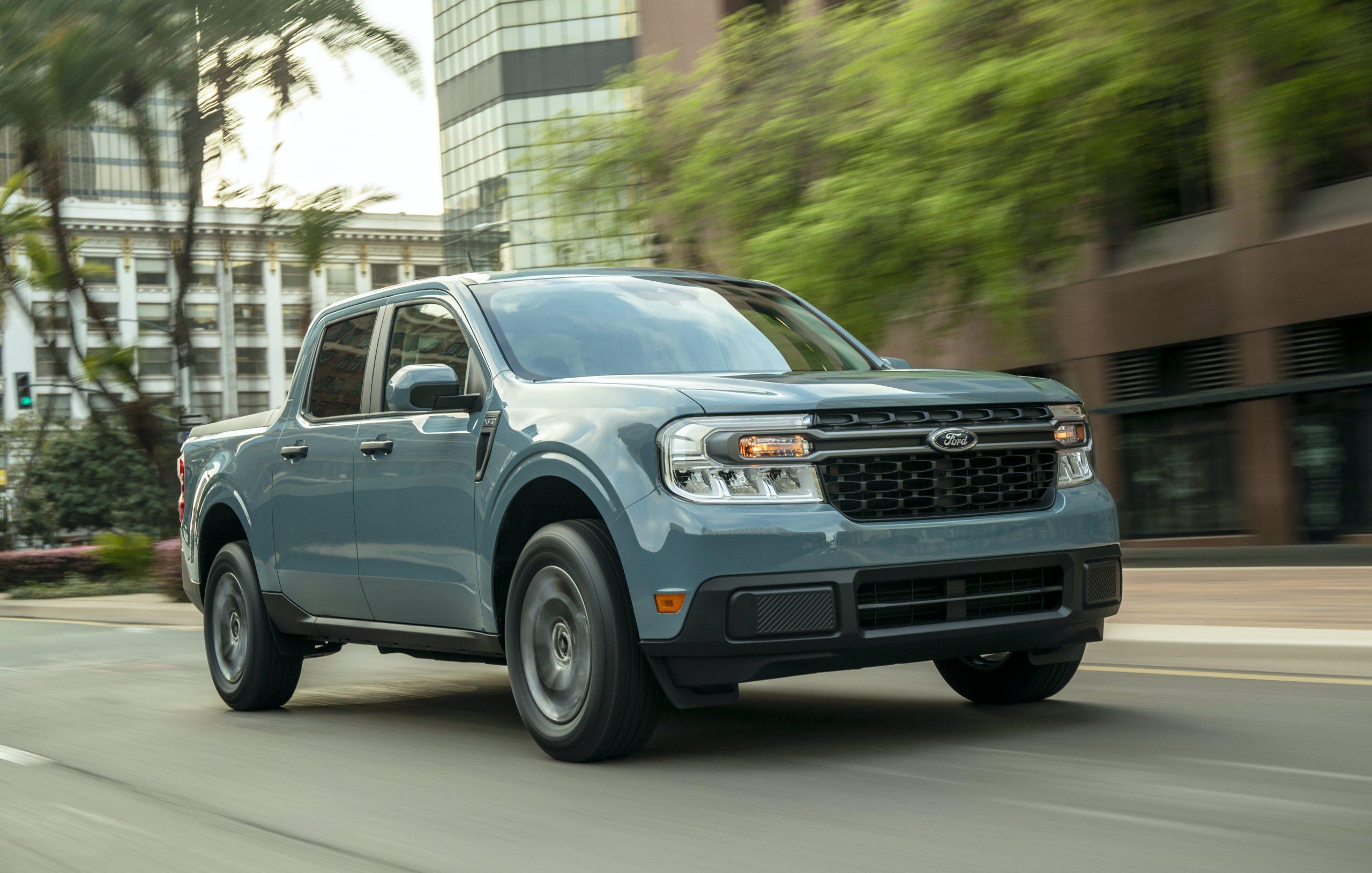 Ford's new Maverick hybrid pickup starts at $19,995 and gets 40 mpg