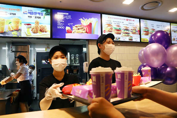 McDonald's says South Korea and Taiwan operations hacked